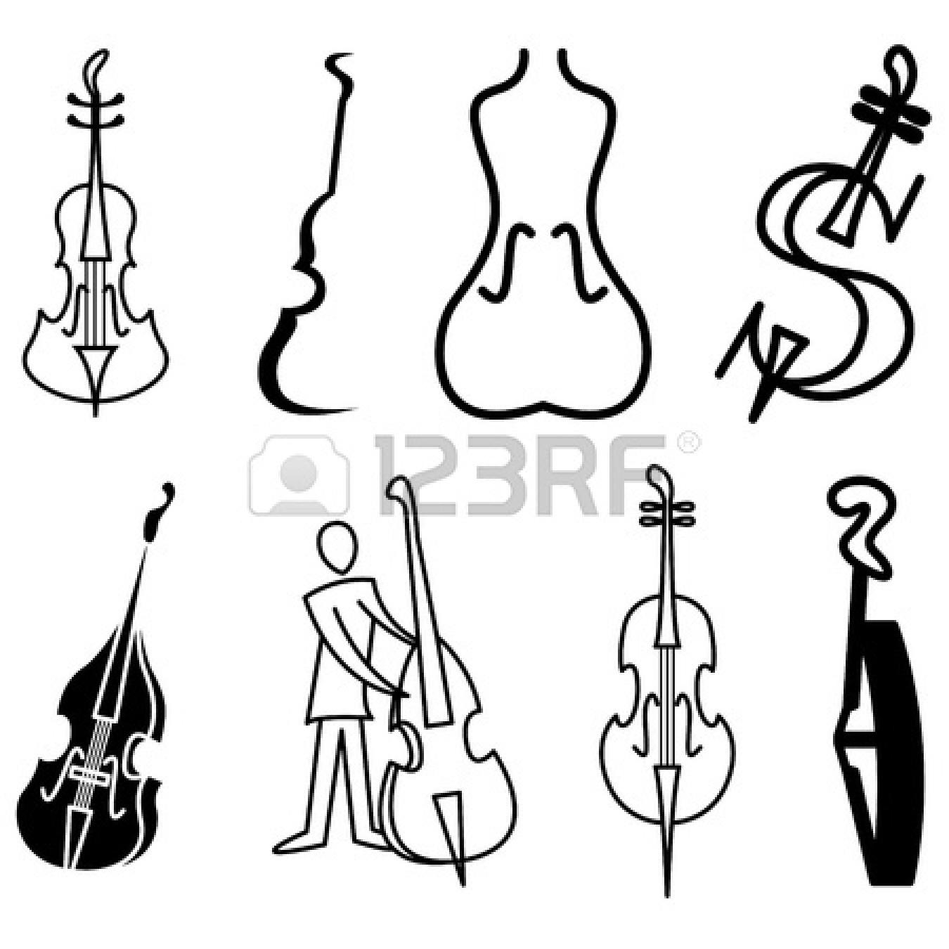 Symphony violin panda free. Cello clipart orchestra