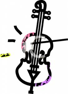 Cello clipart outline. Of a royalty free