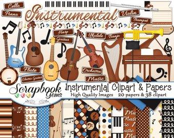 Cello clipart piano. Violin etsy instrumental and
