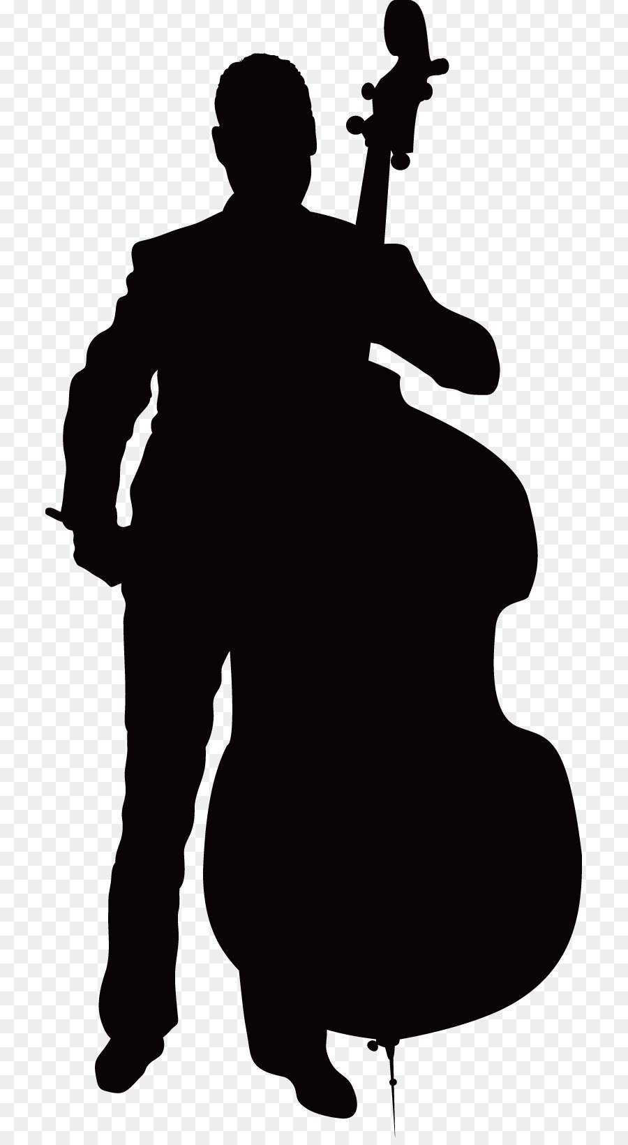 Cello clipart silhouette. Violin clip art at