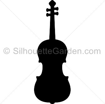 best silhouettes images. Cello clipart silhouette