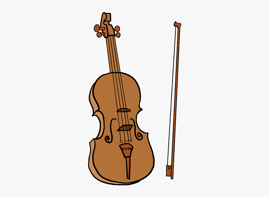 Shape drawing easy free. Cello clipart small violin