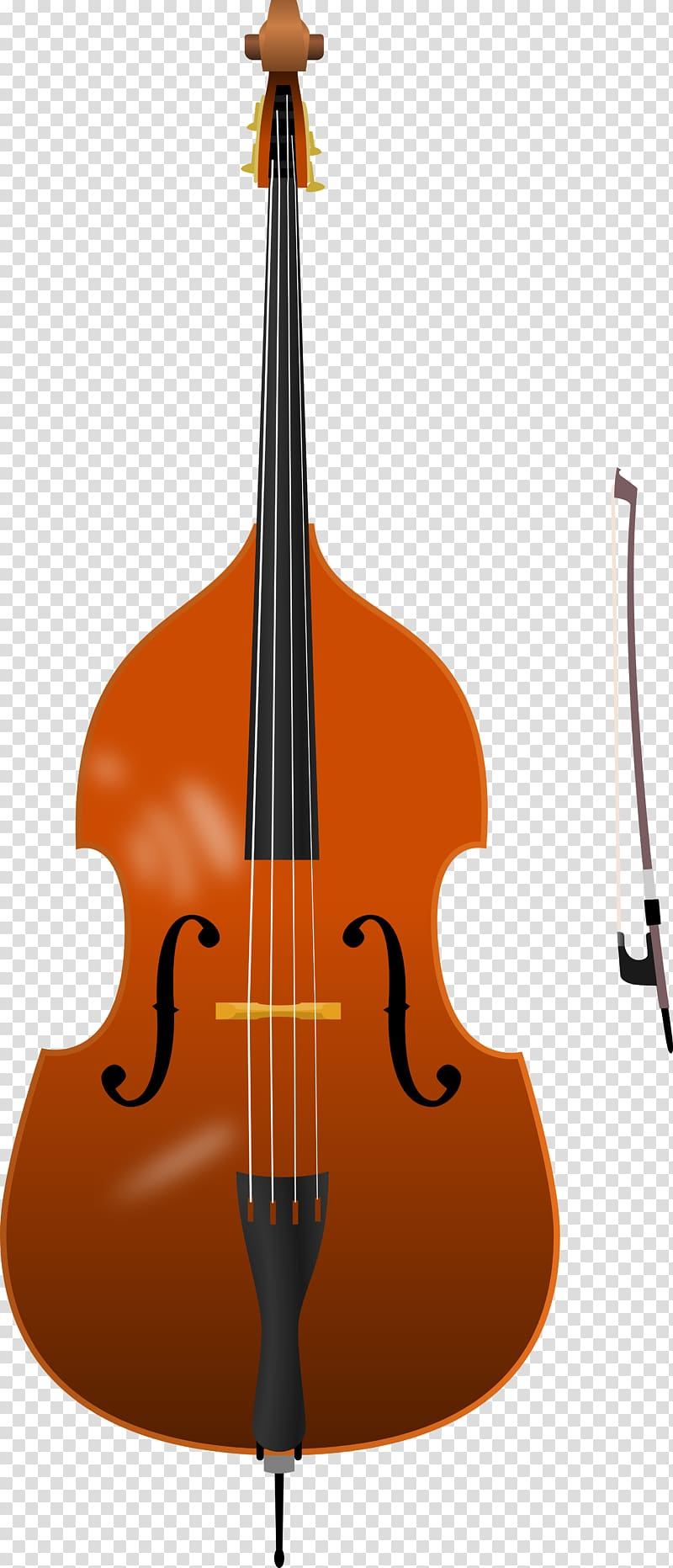 Cello clipart string bass. Double guitar instruments
