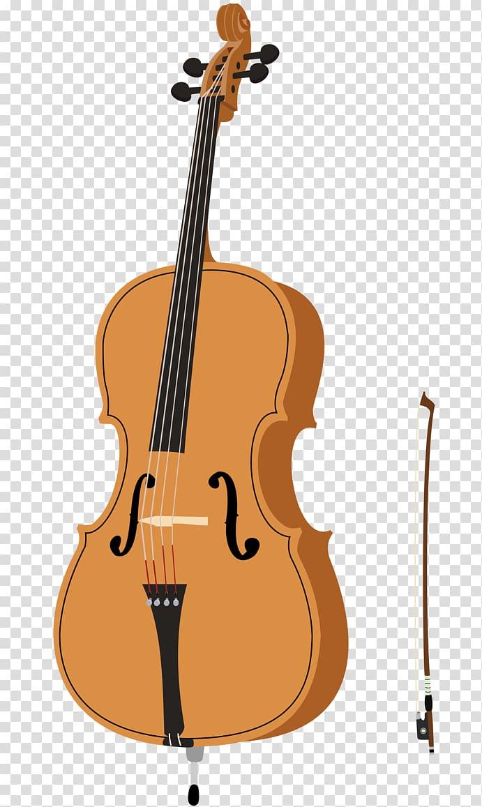 Violin cellist double transparent. Cello clipart string bass