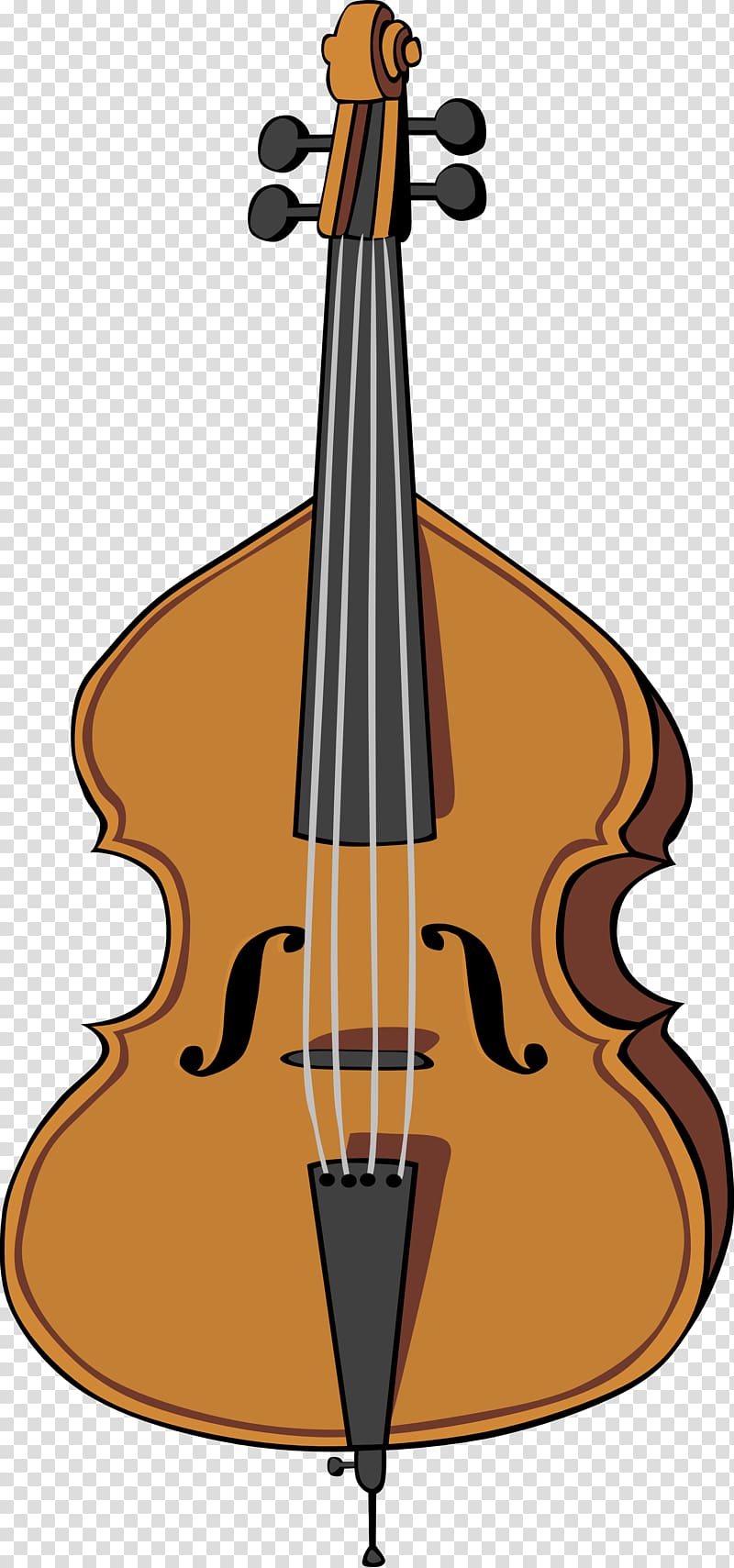 Violin cellist string bass. Cello clipart stringed instruments