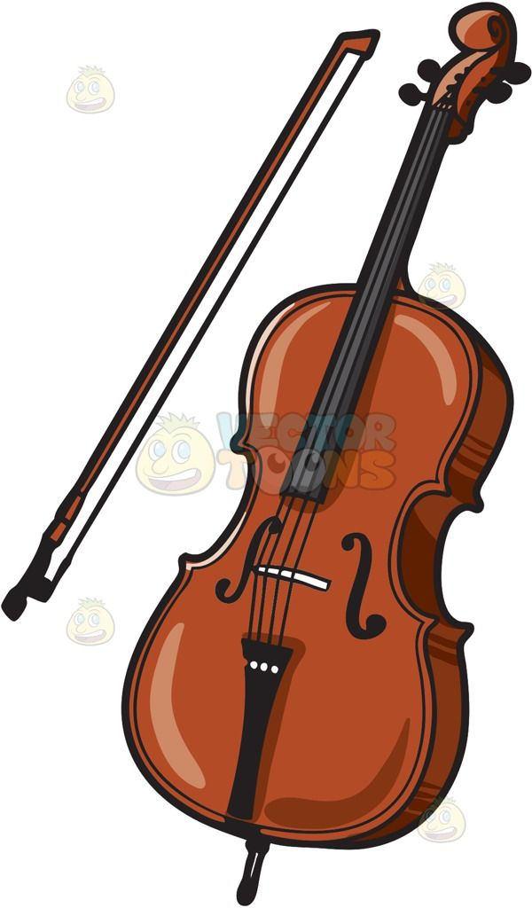 A musical instrument called. Cello clipart tool
