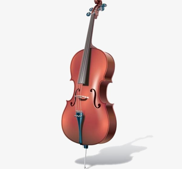Icon simple clean png. Cello clipart transparent background