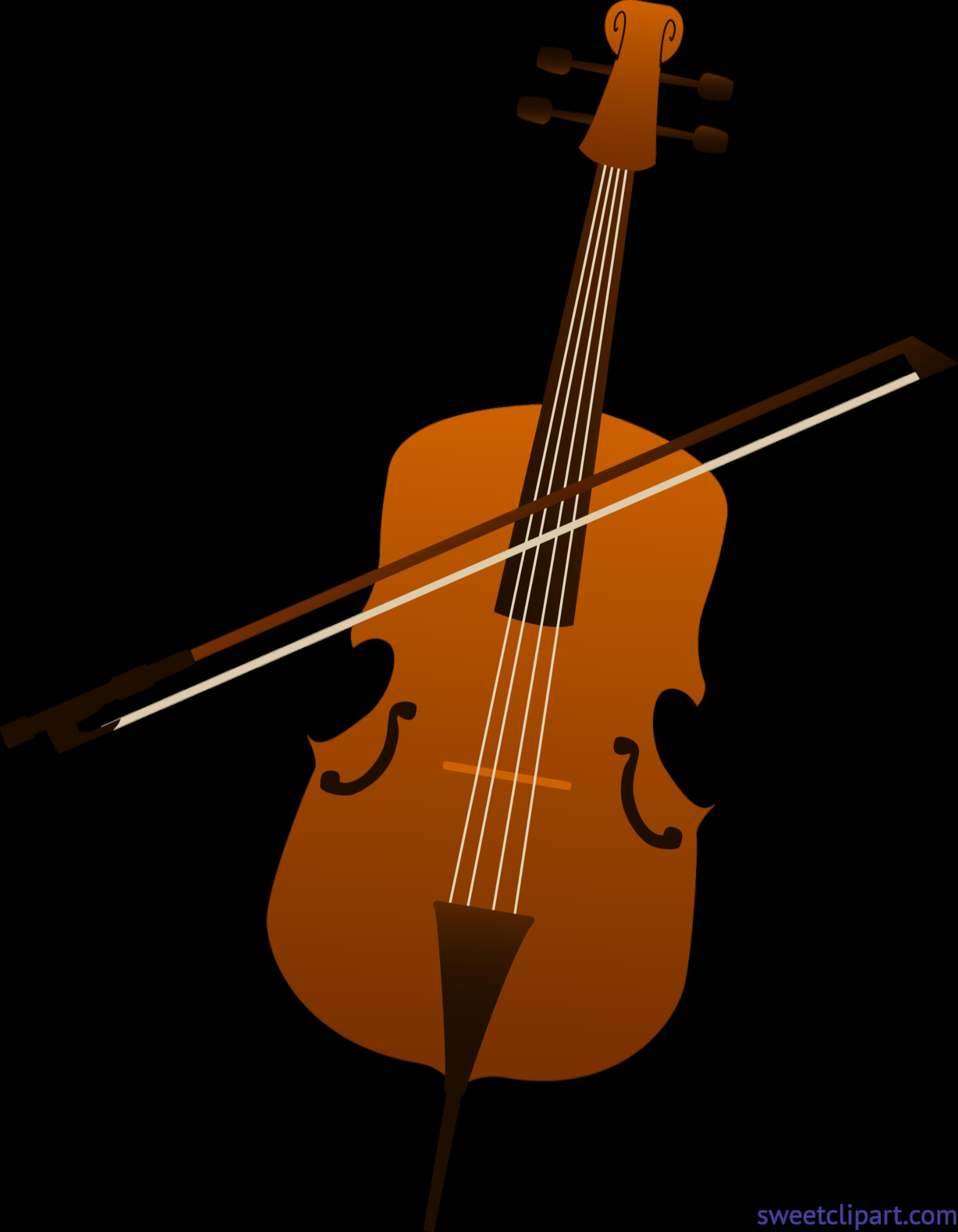 Cello clipart viola. Clip art sweet