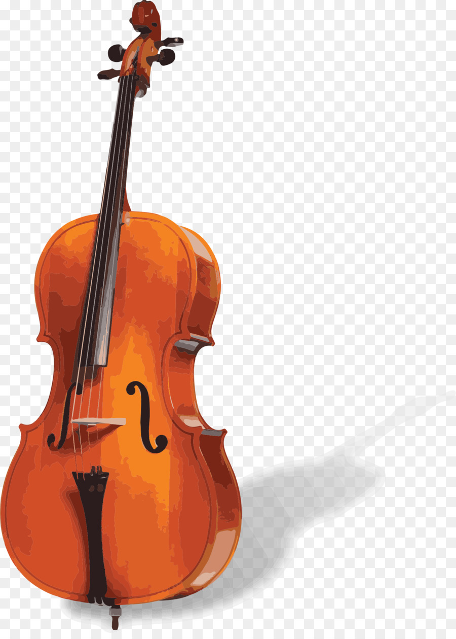 Drawing of family illustration. Cello clipart violin