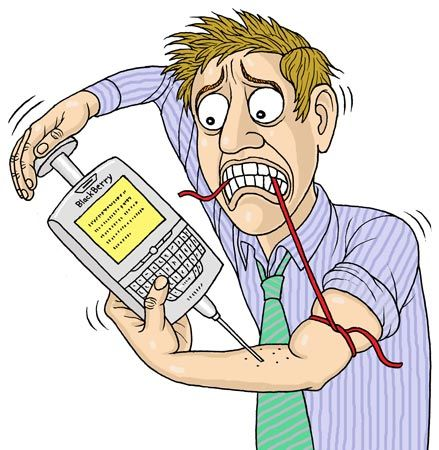 Cellphone clipart addiction. The major problem of