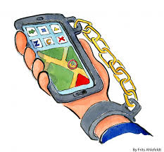The travelling teachers are. Cellphone clipart addiction