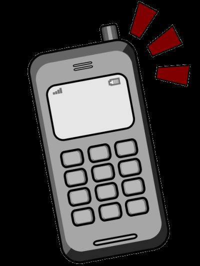 Phone clipartaz free collection. Cellphone clipart cartoon