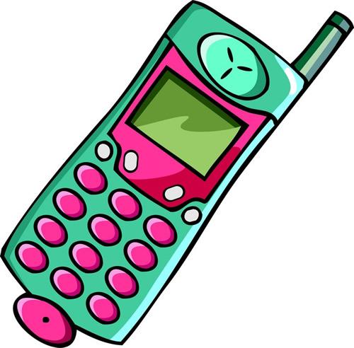Cellphone clipart cartoon. Animated cell phone