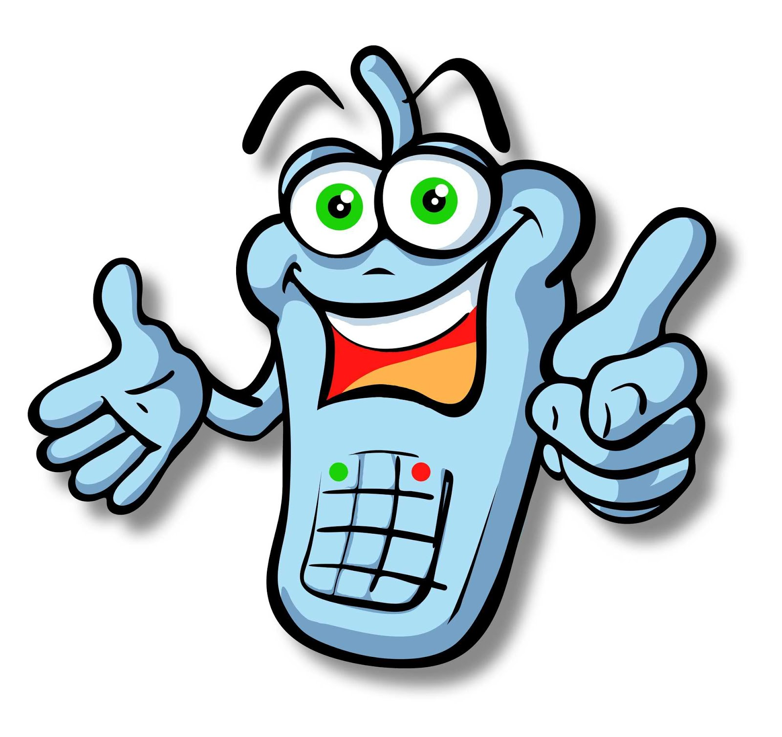 Free pictures of cell. Cellphone clipart cartoon