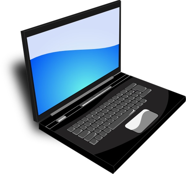 Clipart png laptop. Notebook clip art at