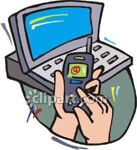 cellphone clipart computer