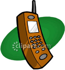 Clipart telephone wireless telephone. Handset royalty free picture