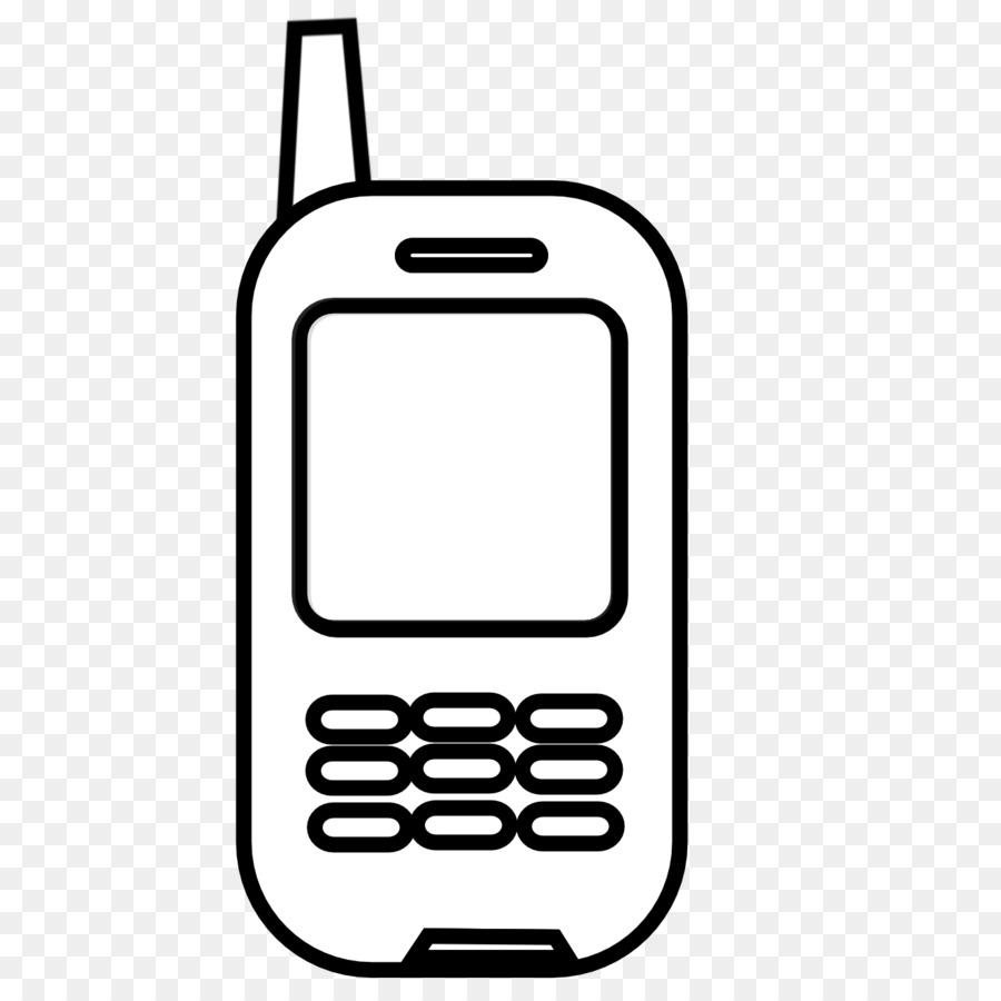 Cartoon telephone black technology. Clipart phone feature phone