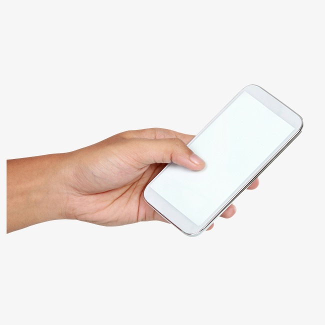Cellphone clipart hand holding. A cell phone take