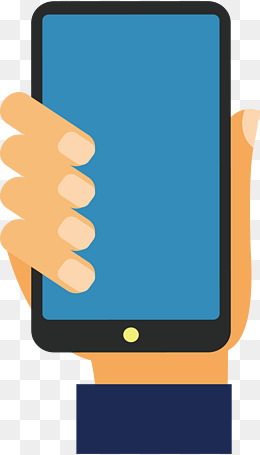 Cartoon pictures of cell. Cellphone clipart hand holding