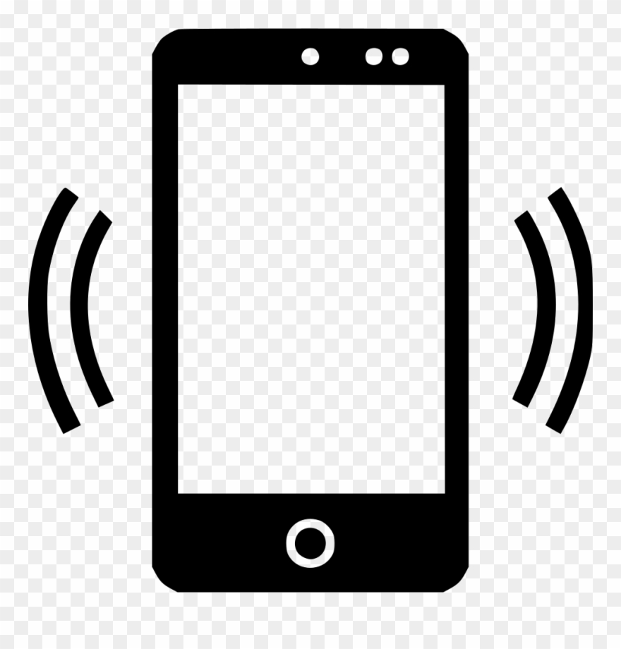 Cellphone clipart icon. Text mobile phone clip