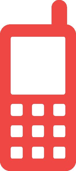 Mobile phone clip art. Cellphone clipart icon