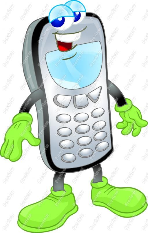 Cellphone clipart kid.  best anime images
