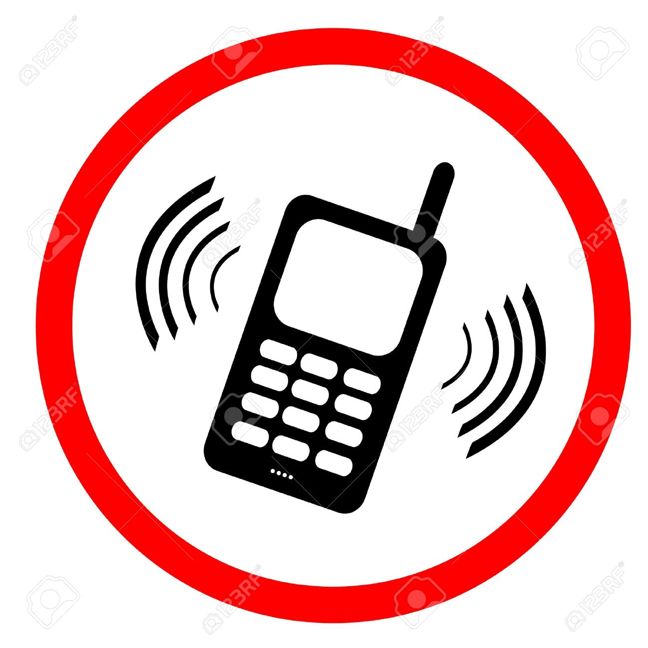 Cell phone tax clipground. Cellphone clipart mobile sign