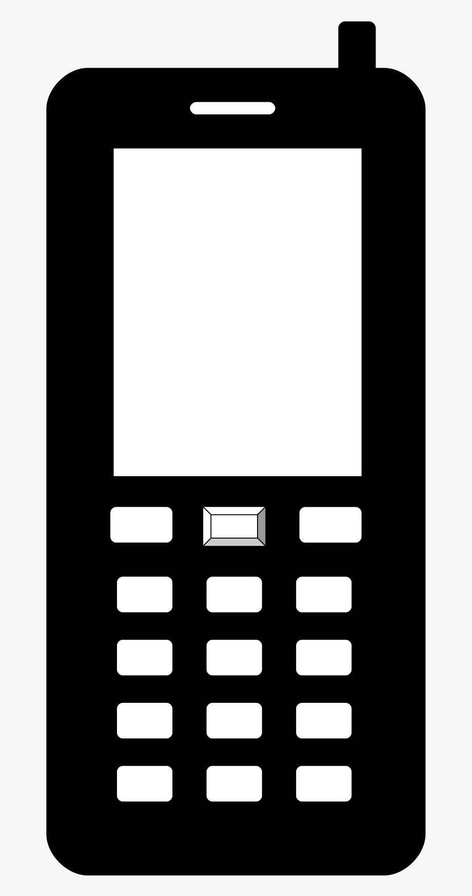 Cellphone clipart mobile sign. Cell phone symbol png