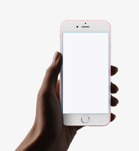 Cellphone clipart phone screen. Template arm png image