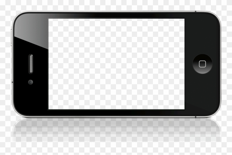 Cellphone clipart phone screen. Iphone black and white