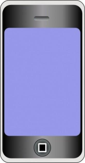 Cellphone clipart vector. Motudo mobile phone with