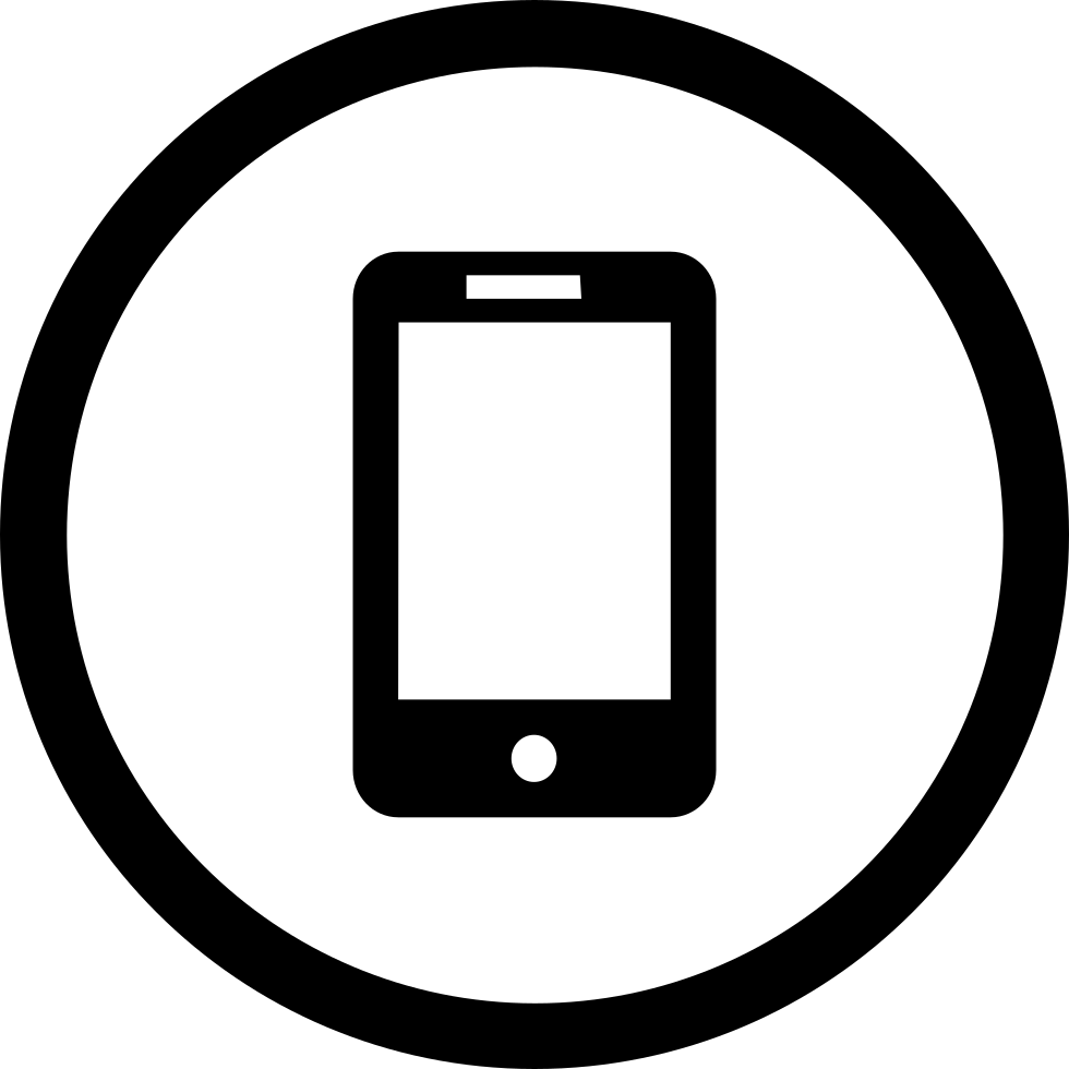 Mobile svg free download. Cellphone icon png