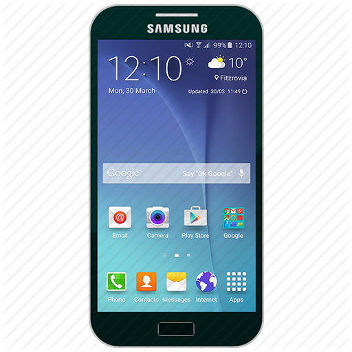 Cellphone icon png. Samsung digital set by