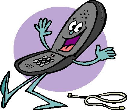 Telephone clipart happy. Phone