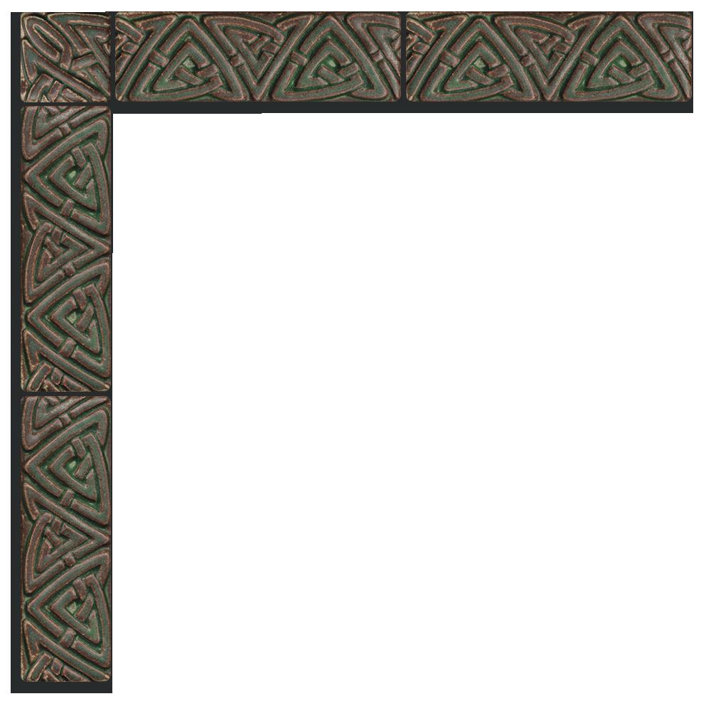 Celtic border png.  x motawi tileworks