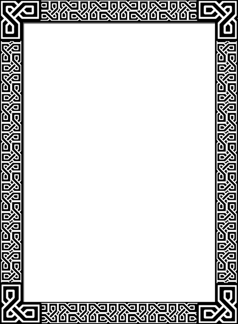 Celtic border png. By acorntail on deviantart