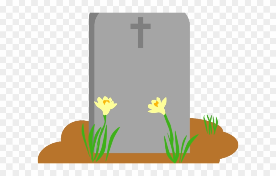 Gravestone rip cross png. Cemetery clipart