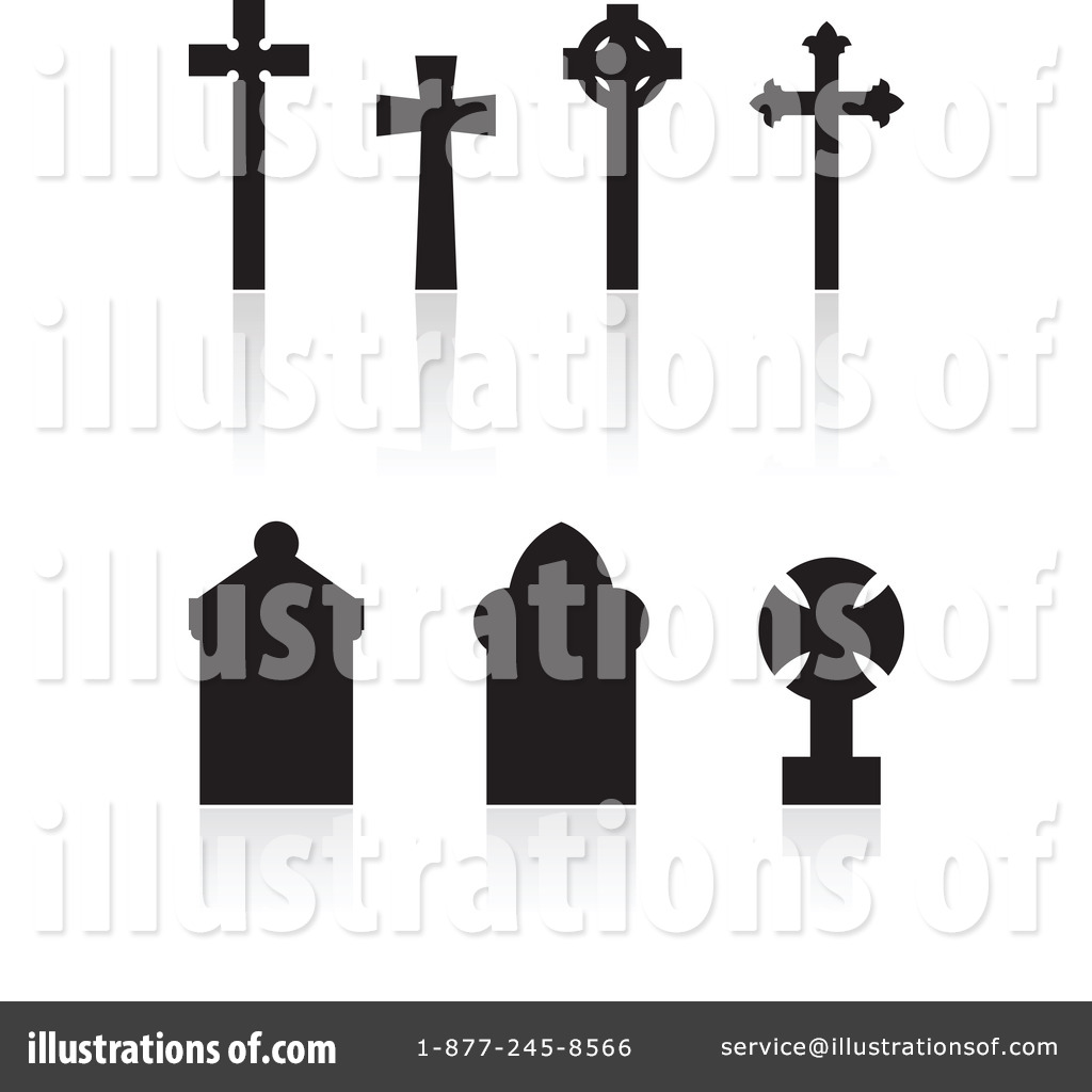 Illustration by cidepix royaltyfree. Cemetery clipart
