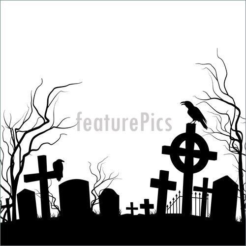 Spooky portal . Cemetery clipart