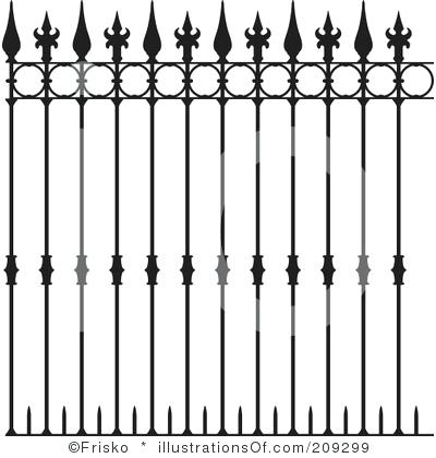Graveyard fence expatworld club. Cemetery clipart border