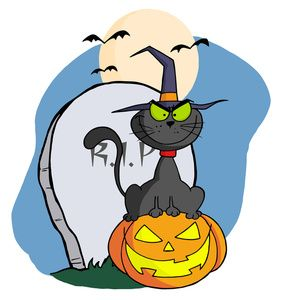 Image drawing of a. Cemetery clipart cartoon