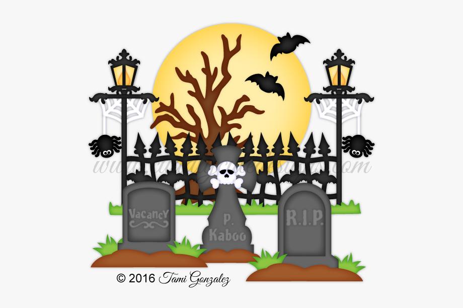Cemetery clipart cartoon. Coffin graveyard for kids