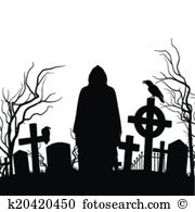 Station . Cemetery clipart cementery