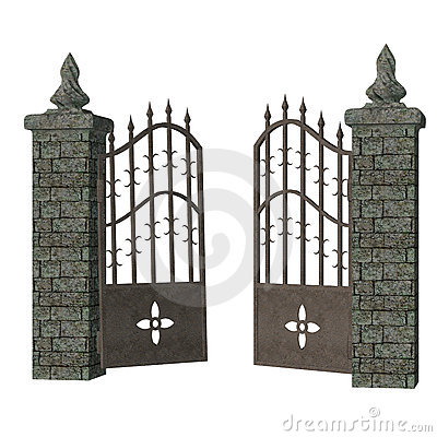 collection of cemetery. Gate clipart tall
