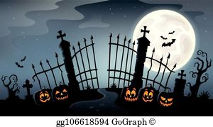 Gate clipart cemetery gates. Clip art royalty free