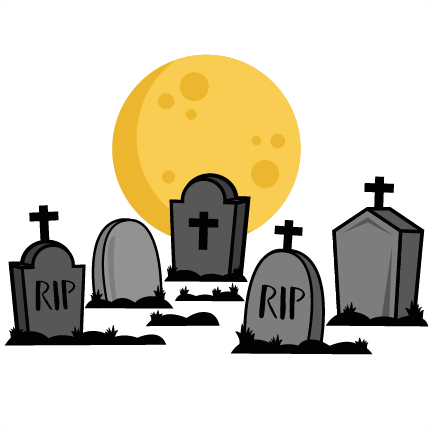 Silhouette at getdrawings com. Cemetery clipart cute