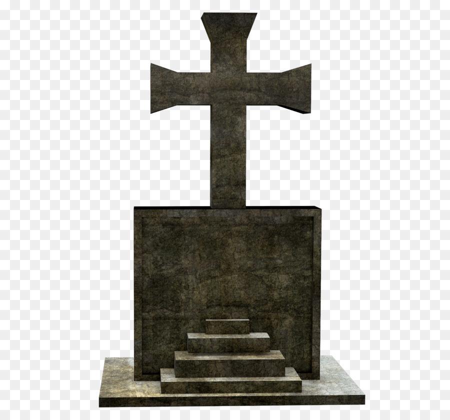 Cemetery clipart grave stone. Cross symbol transparent clip