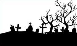 Graveyard jpg. Cemetery clipart gravesite
