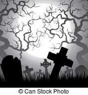 Clip art free panda. Cemetery clipart halloween